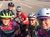 Hometown Bicycles Green Gals women-only mountain bike ride