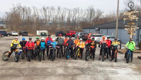 Fat Bike Friendly Shop Ride at Hometown Bicycles of Brighton, MI