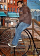 Shaun Bhajan, Head Honcho of Hometown Bicycles