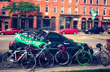 Hometown Bicycles at the Tour de Livingston Kick-Off Ride