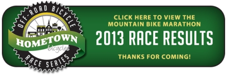 Hometown Bicycles Mountain Bike Marathon Race Results