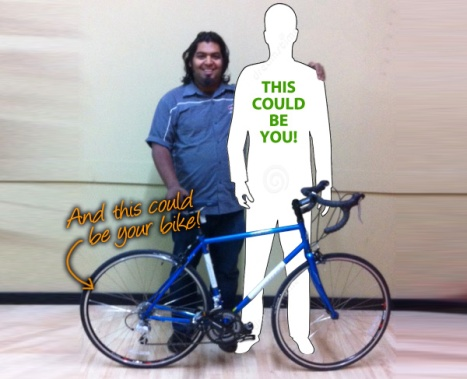 This could be you - win this bike!