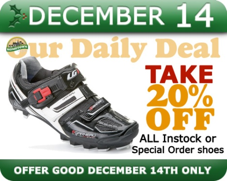 Hometown Bicycles Daily Deal December 14