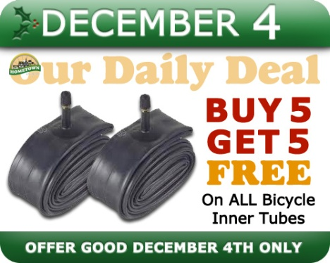 Hometown Bicycles Daily Deal December 4