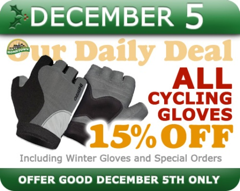 Hometown Bicycles Daily Deal December 5