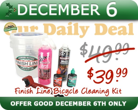 Hometown Bicycles Daily Deal December 6