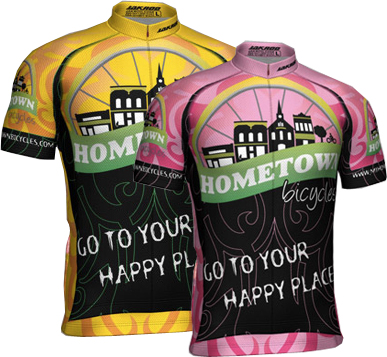 Hometown Bicycles jerseys