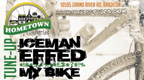 Hometown Bicycles Iceman Tune-Up flier