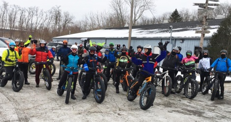 Hometown Bicycles Fat Bike Friendly Shop Ride